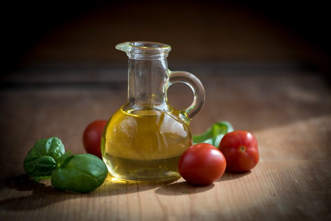 Extra virgin olive oil and nutrition