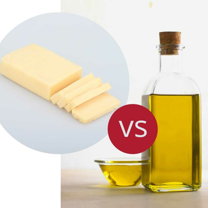 Olive oil or butter? Which is better for cooking?