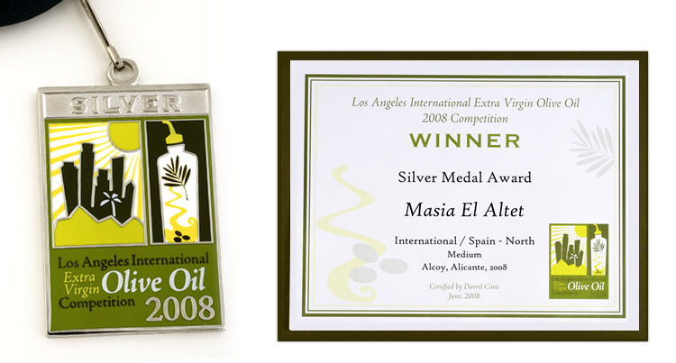 Medalla de Plata en el Certamen Internacional