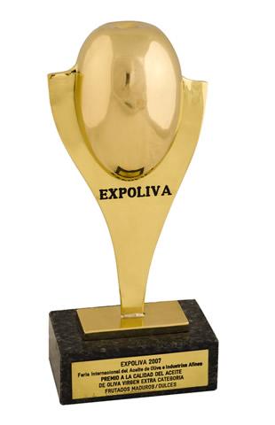 Primer premio Expoliva