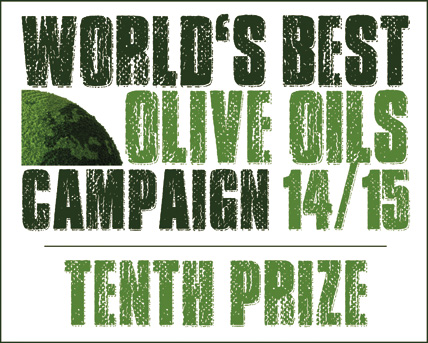 TENTH BEST EVOO IN THE WORLD