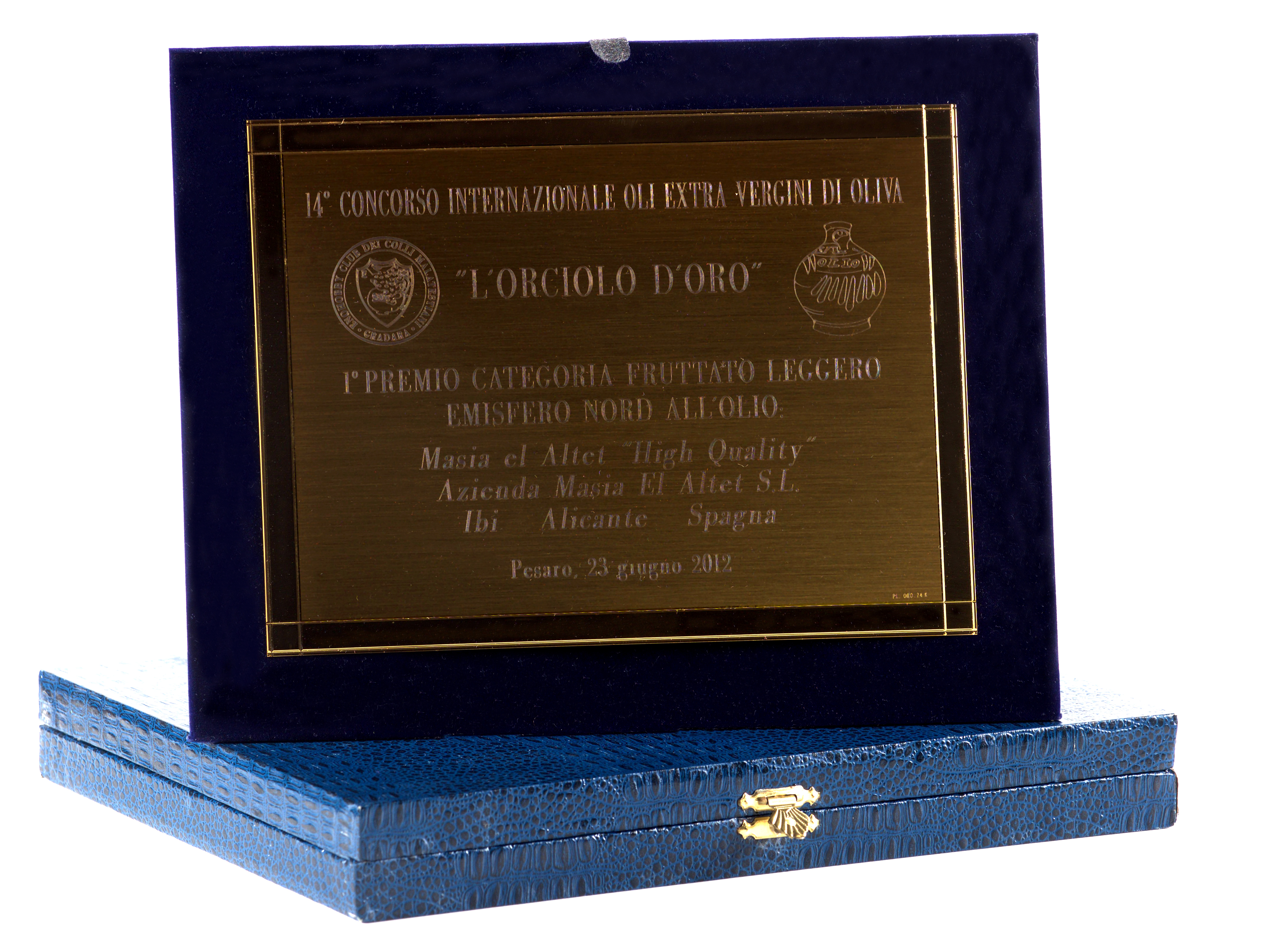 Primer Premio L´orciolo d´oro. Ligero