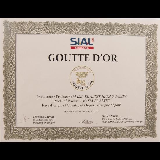 Primer Premio Sial Canadá